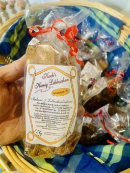 Lebkuchen mit gutem Honig