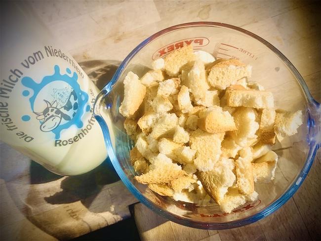 Smoothie mit Zwieback und Milch vom Rosenhof
